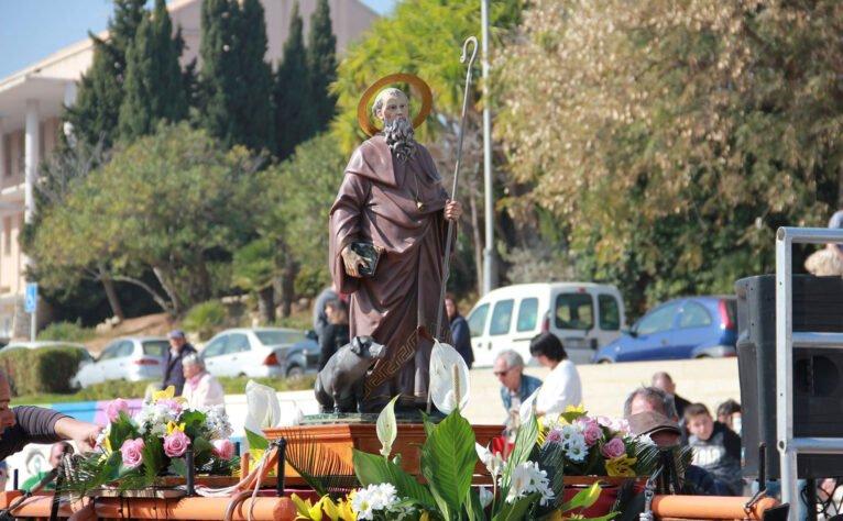 Fiestas en honor a San Antoni Abad en Jávea