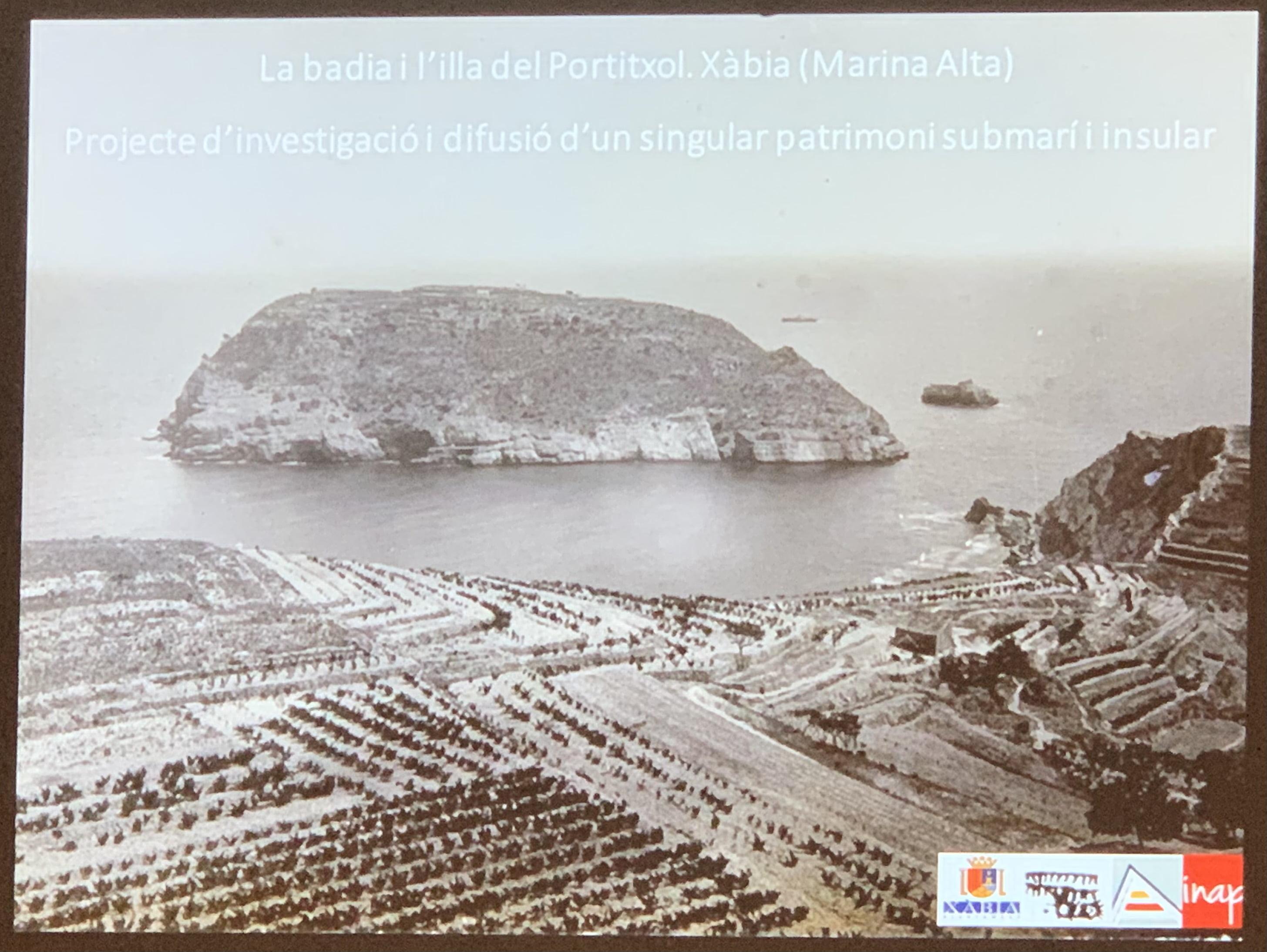 Foto antigua de l'Illa del Portitxol