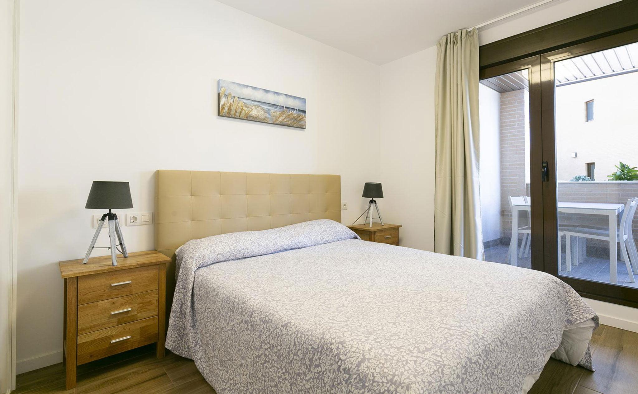 Habitación de un apartamento de vacaciones en Jávea – Quality Rent a Villa