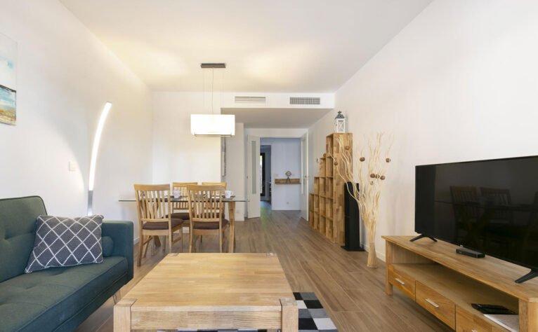 Interior de un apartamento de vacaciones en Jávea - Quality Rent a Villa