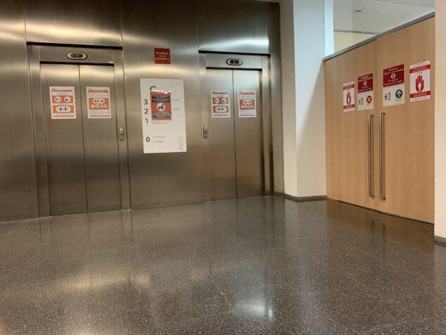 Imagen: Interior del Hospital de Dénia