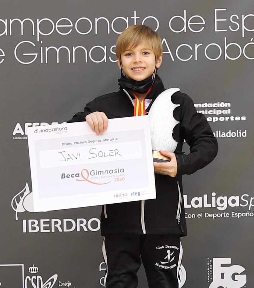 Javi Soler del Club Artística Montgó Xàbia