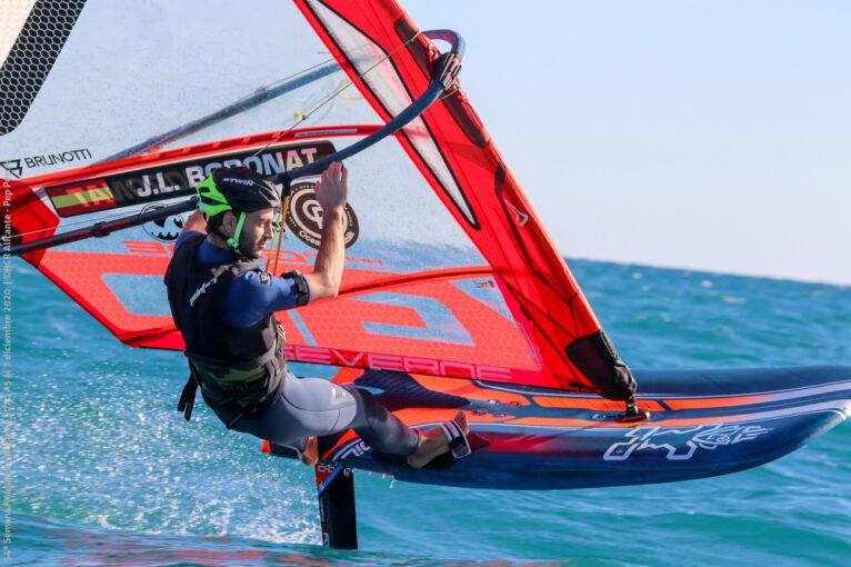 José Luis Boronat en la prueba de Alicante