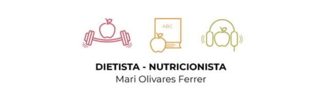 Imagen: Logotipo de Dietista-Nutricionista Mari Olivares