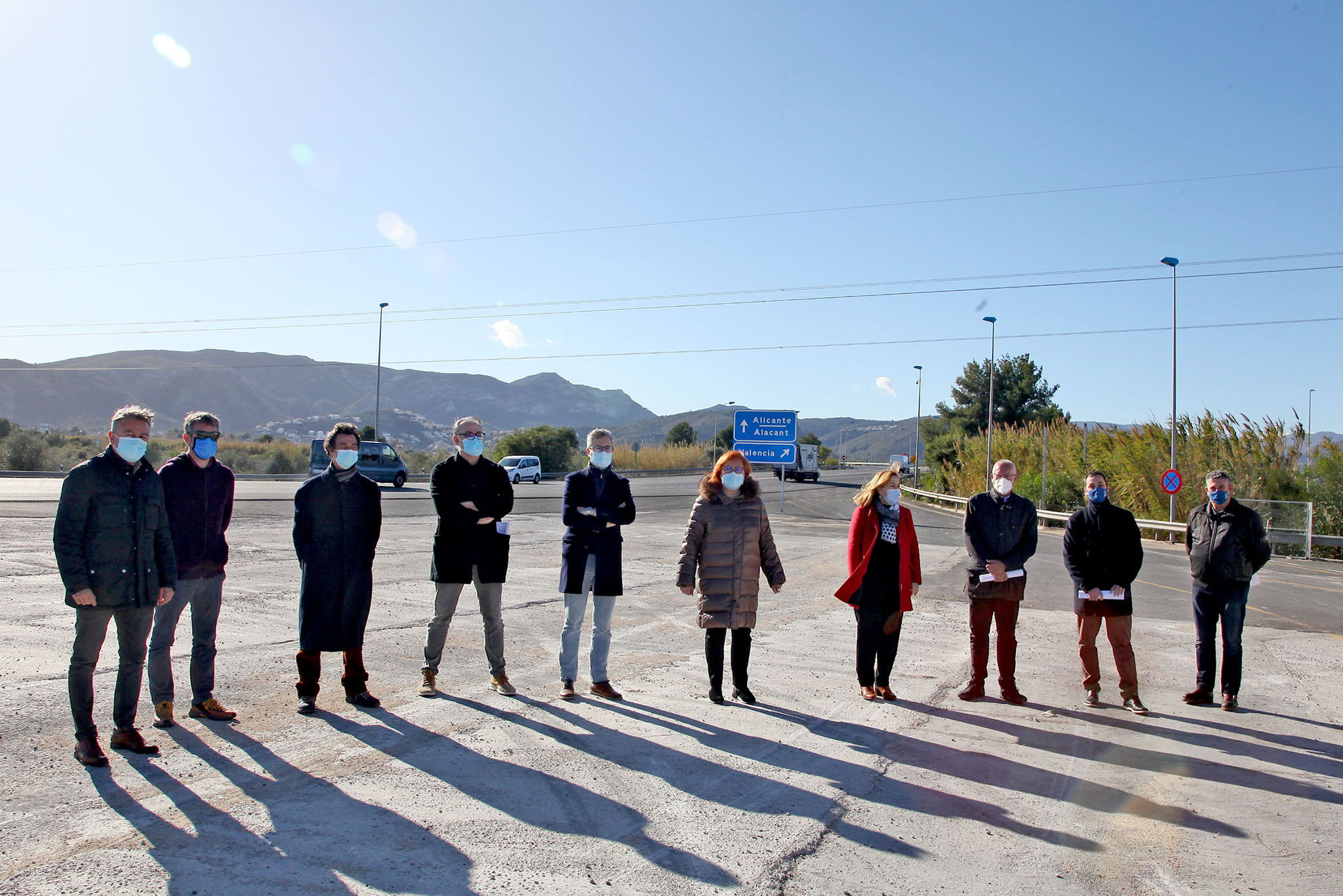Los ayuntamientos de la Marina Alta celebran el primer año sin autopista