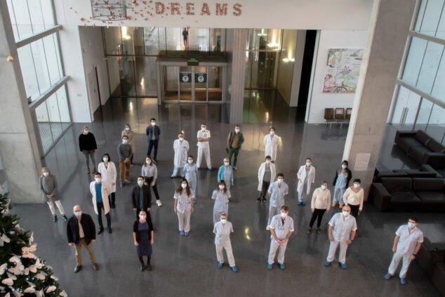 Imagen: Médicos del Aparato Locomotor del Hospital de Dénia