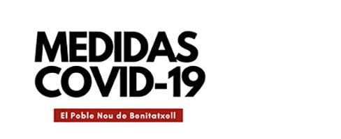 Imagen: Medidas COVID-19 Benitatxell