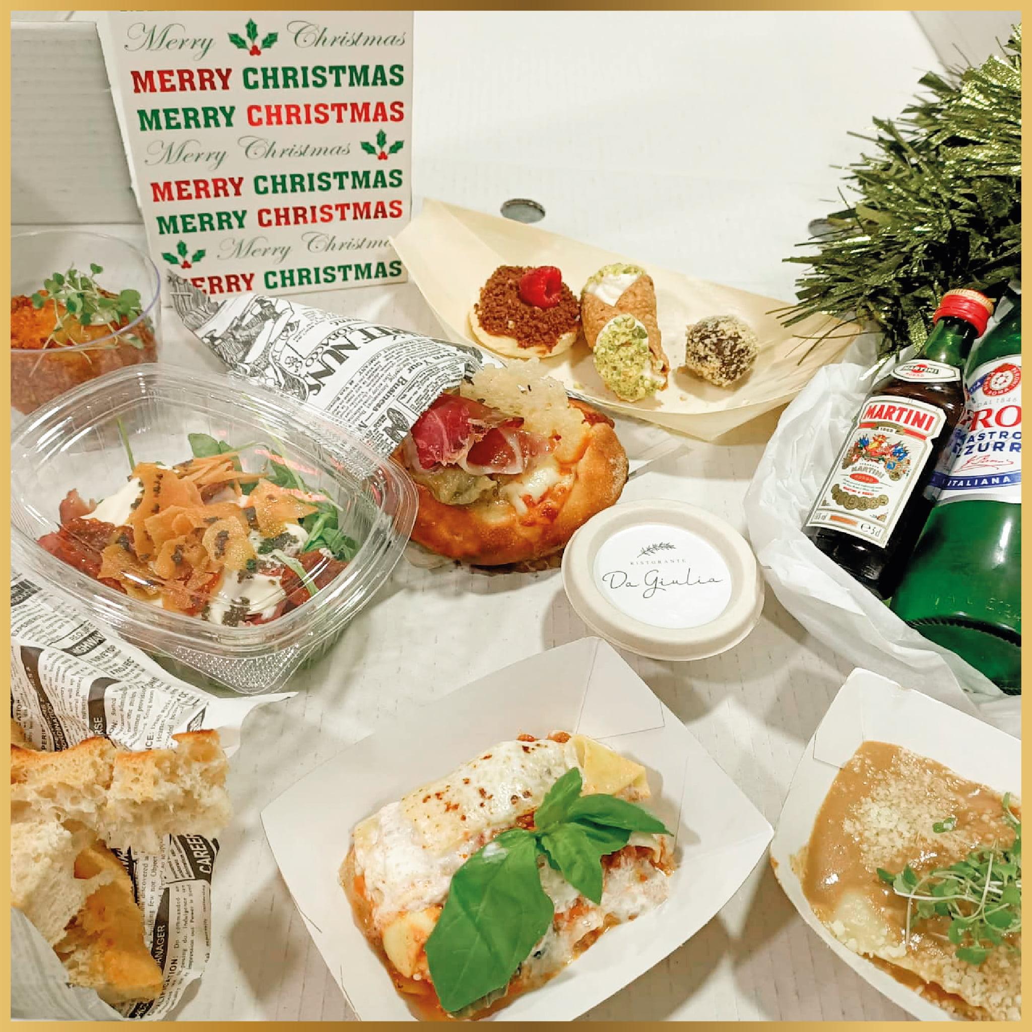 Menús degustación para Navidad en Jávea – Restaurante Da Giulia