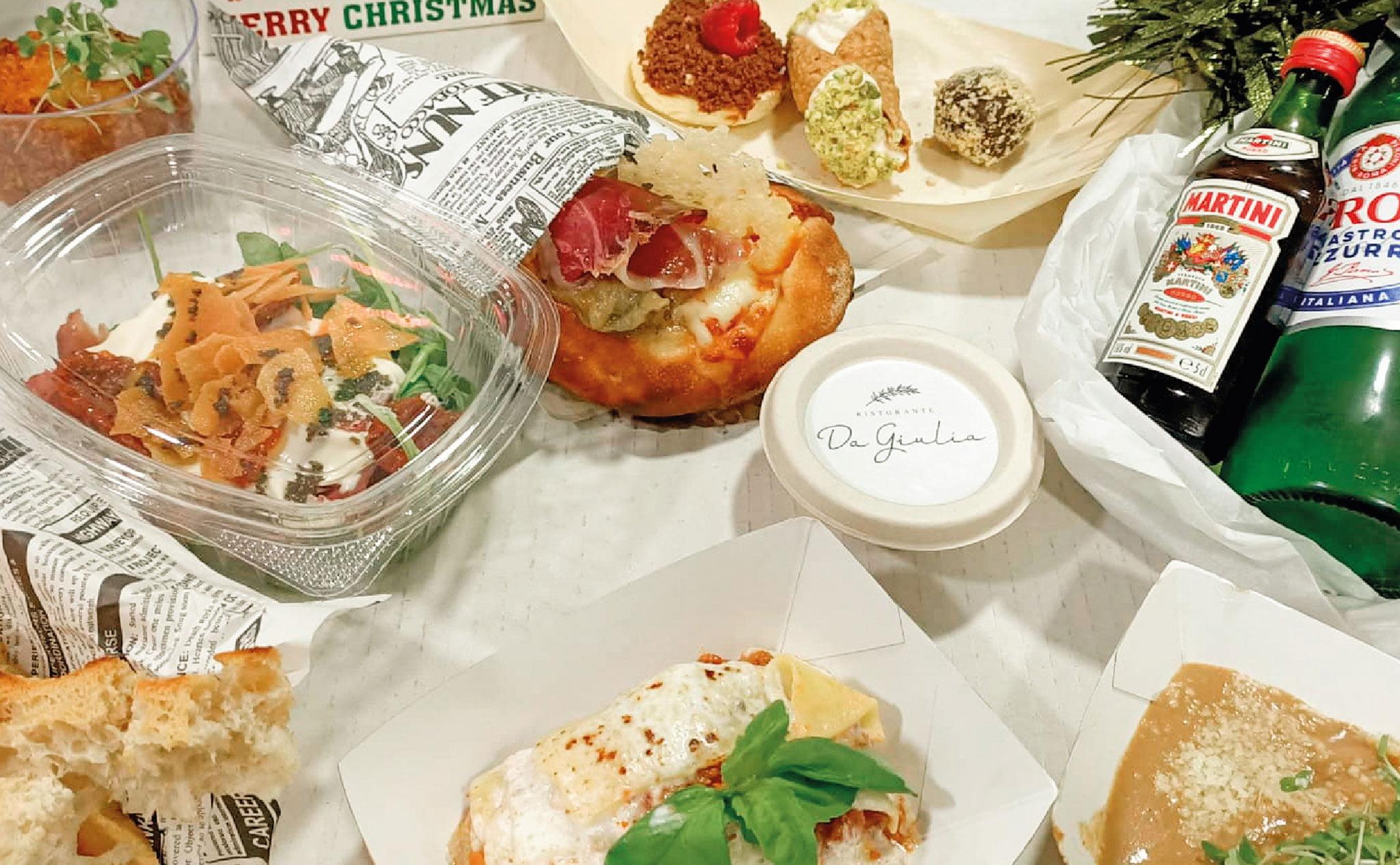 Menús degustación de Navidad en Jávea – Restaurante Da Giulia