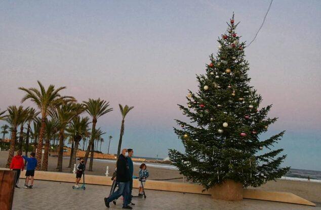 Imagen: Navidad en el Paseo del Arenal