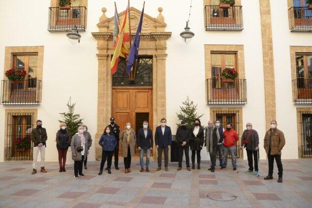 Imagen: Nuevos trabajadores de Xàbia por el programa ECOVID