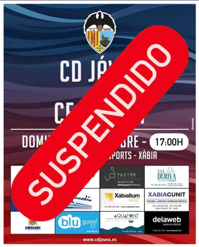Imagen: Partido suspendido