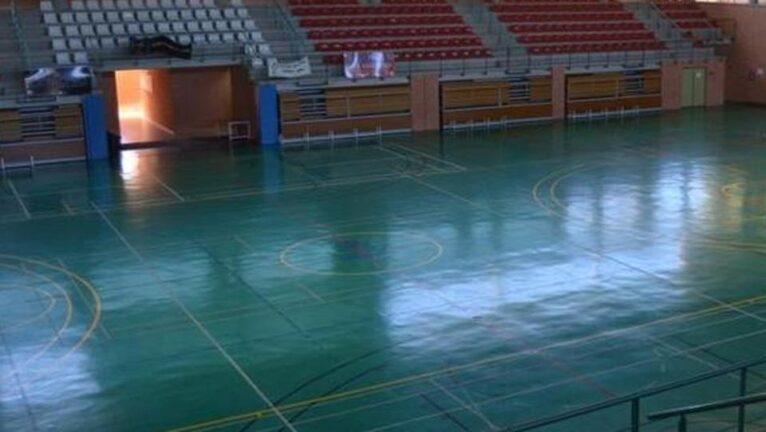 Pista interior del Pabellón de deportes