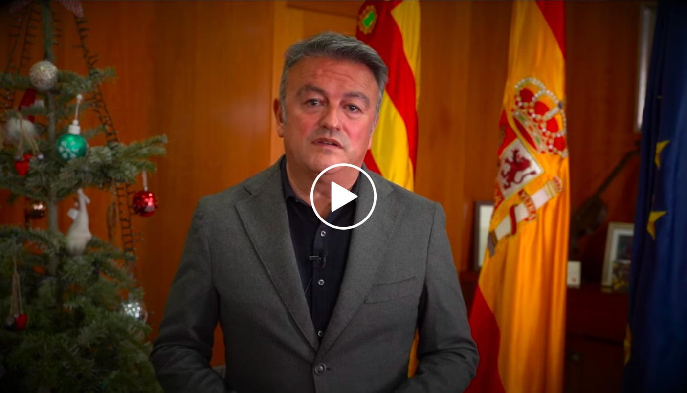 Play mensaje de José Chulvi por el incremento de la COVID