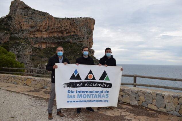Imagen: Presentación Día de las Montañas 2021 en Benitatxell