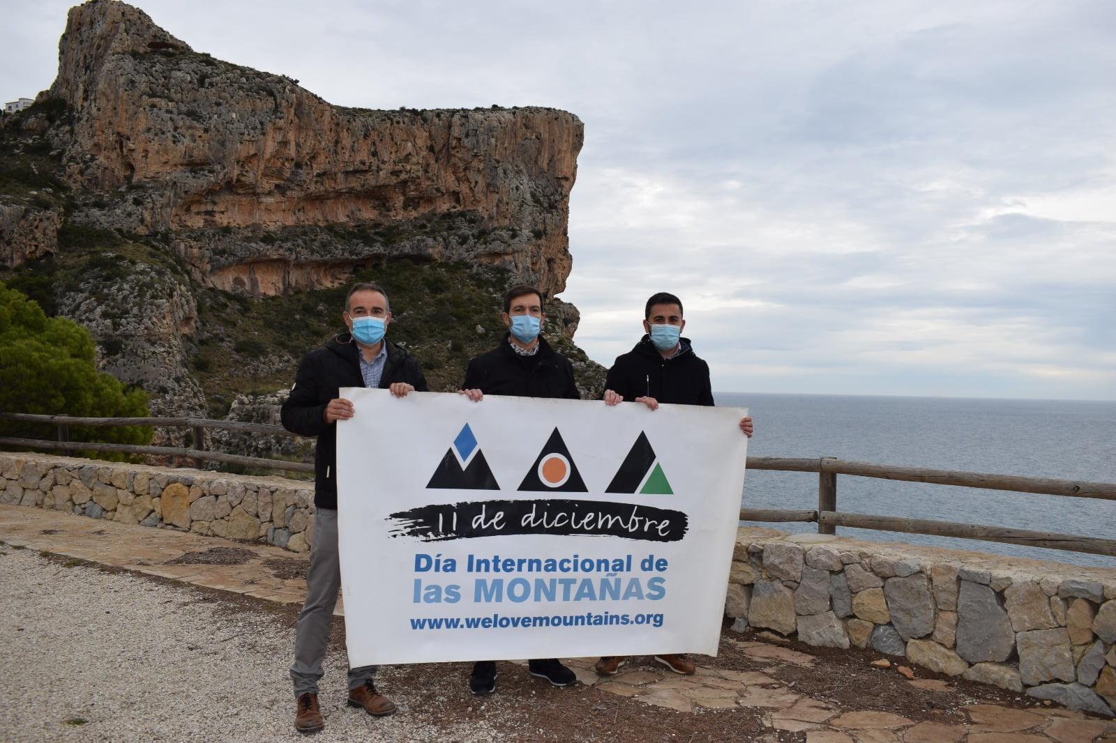 Presentación Día de las Montañas 2021 en Benitatxell