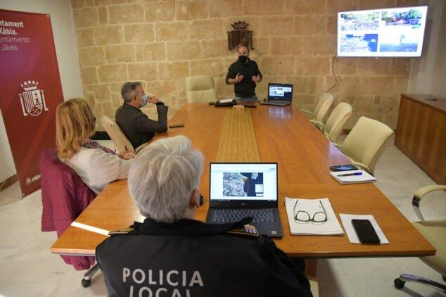 Imagen: Reunión sobre el plan de autoprotección de las calas