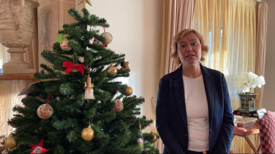 Rosa Cardona, portavoz PP felicita la Navidad