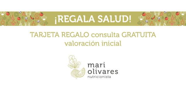 Imagen: Tarjeta regalo consulta inicial - Dietista-Nutricionista Mari Olivares