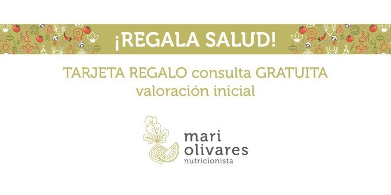 Tarjeta regalo consulta inicial - Dietista-Nutricionista Mari Olivares