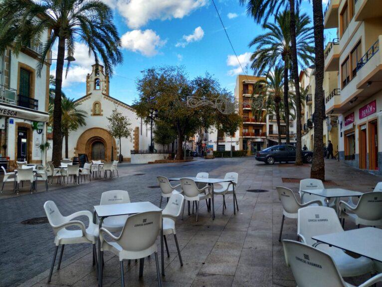 Terrazas de bares en Xàbia