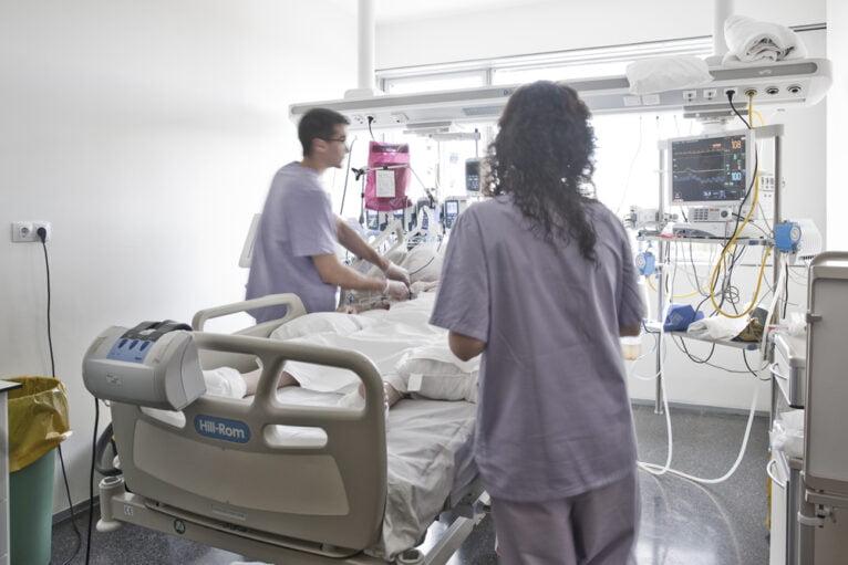 UCI del Hospital Marina Salud