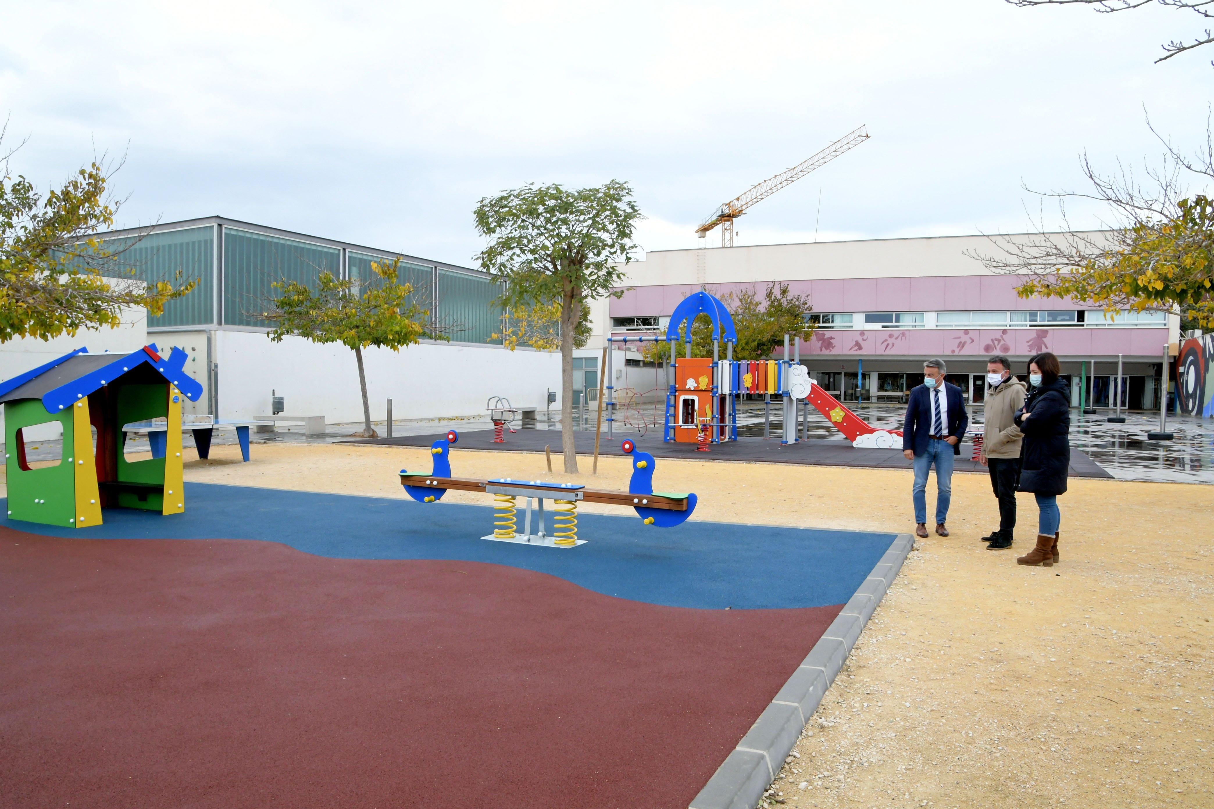 Visita al colegio de l'Arenal