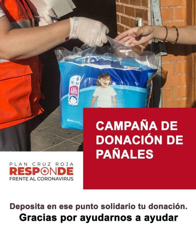 Imagen: Campaña de recogida de pañales