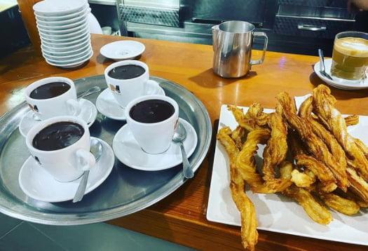 Chocolate con churros Jávea - Nuestro Bar
