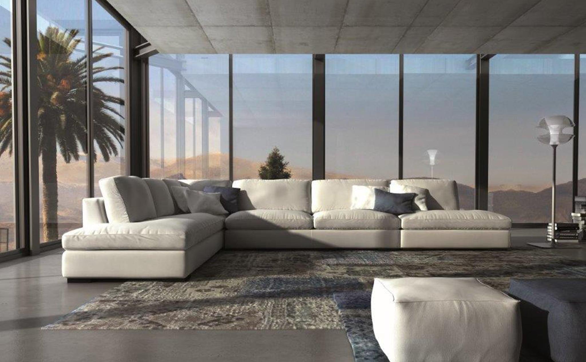 Diversidad de sofás en Muebles Martínez
