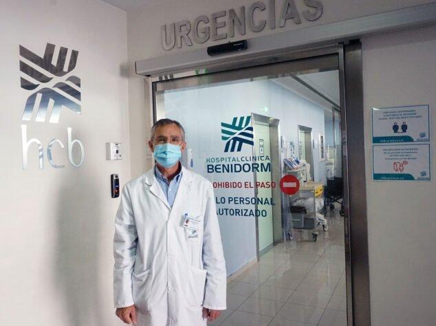 Imagen: El doctor Sánchez Ruano, Director Médico de Hospital Clínica Benidorm (HCB)