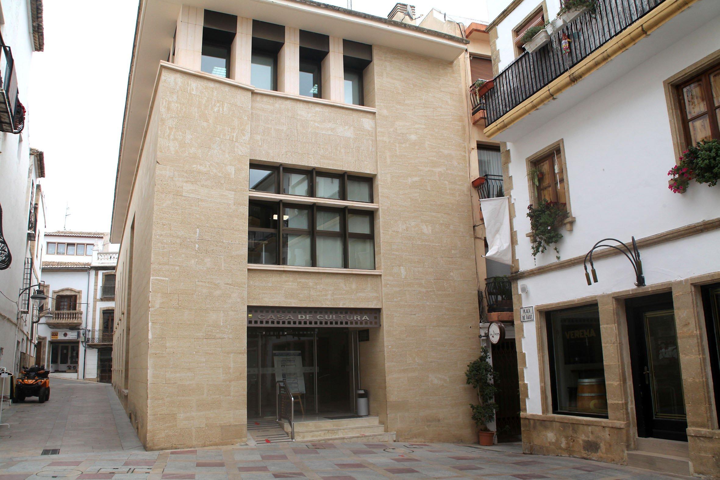 Edificio de la Casa de Cultura