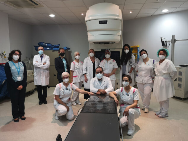 Image: Équipe de radiothérapie de l'hôpital Clínica Benidorm (HCB)