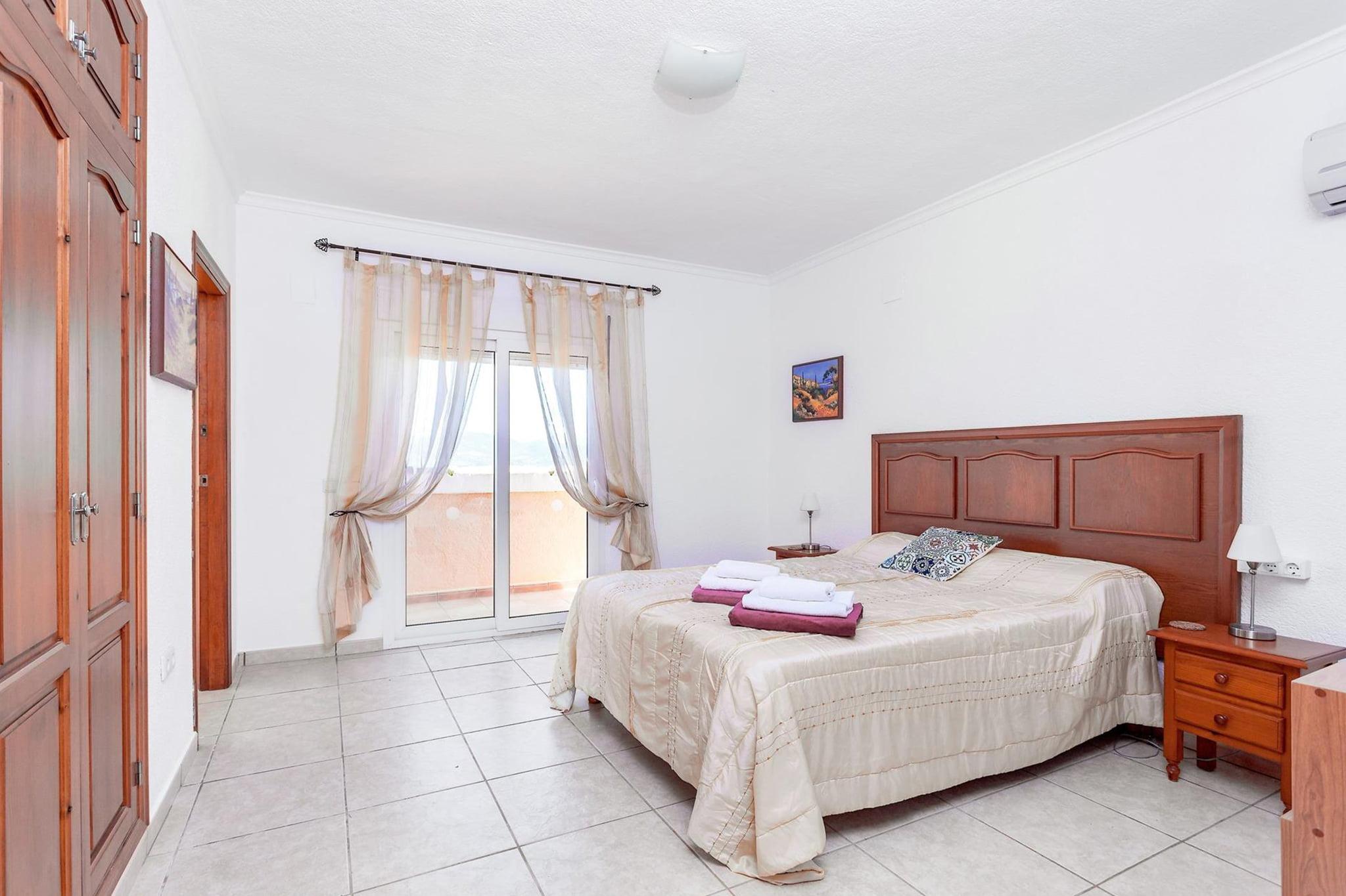 Habitación de un chalet de vacaciones para ocho personas en Jávea – Aguila Rent a Villa