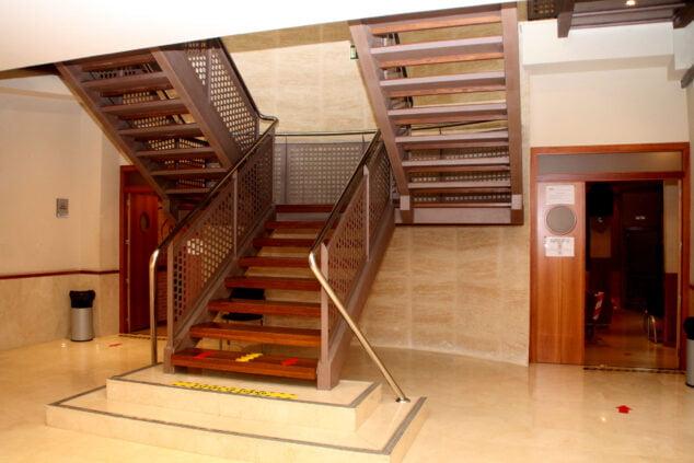 Imagen: Interior de la Casa de Cultura
