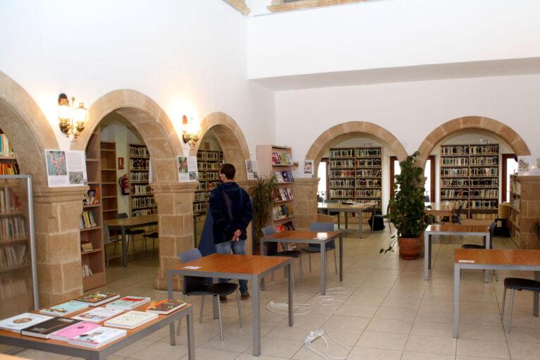 La Biblioteca cuenta con distintas secciones
