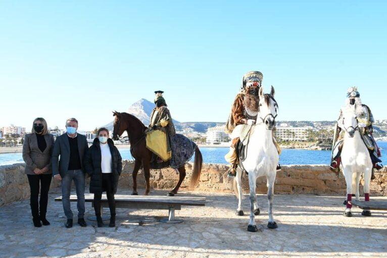 Llegada de los Reyes Magos a Xàbia (1)