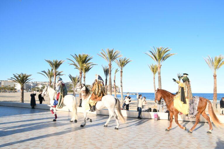 Llegada de los Reyes Magos a Xàbia
