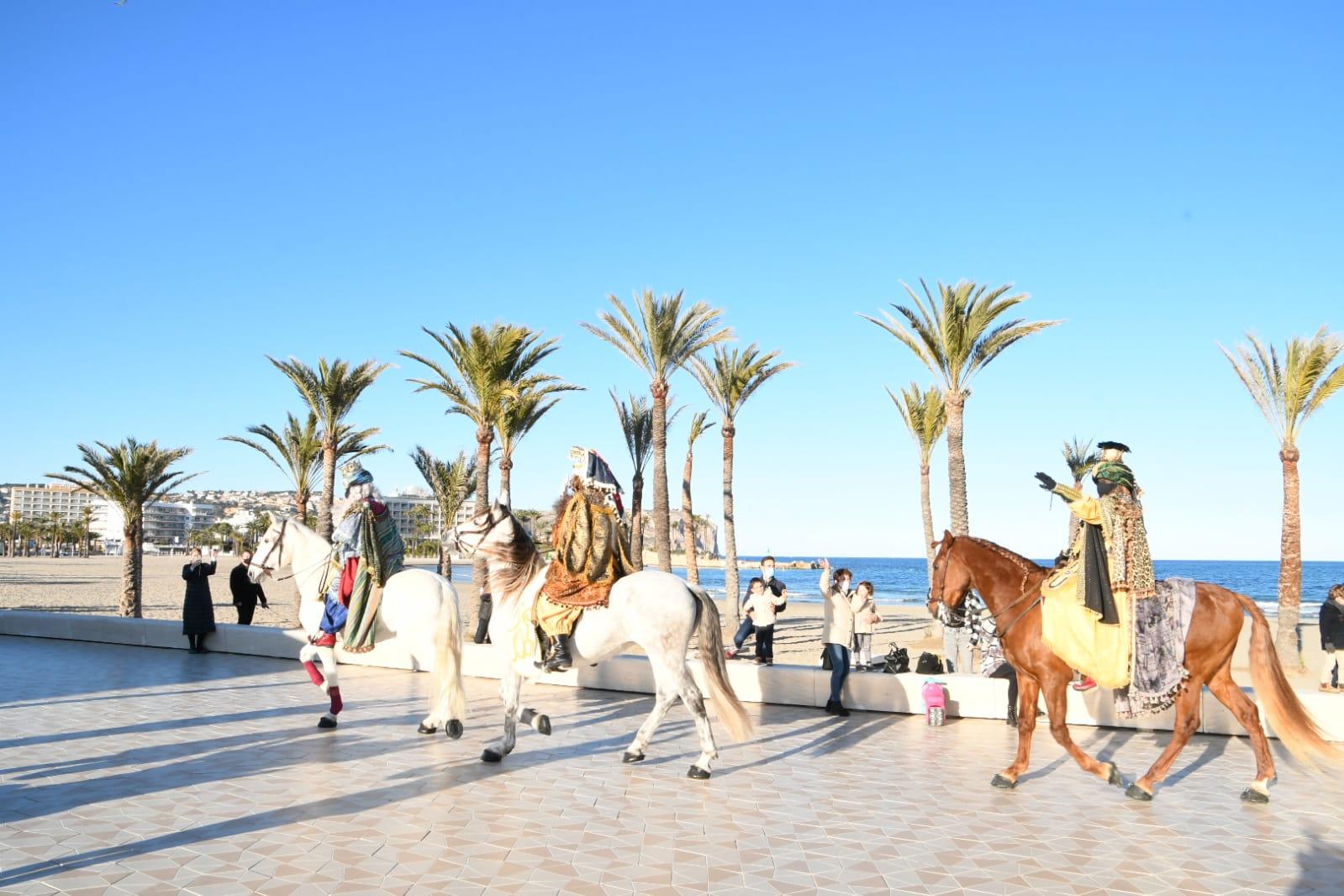 Llegada de los Reyes Magos a Xàbia (2)