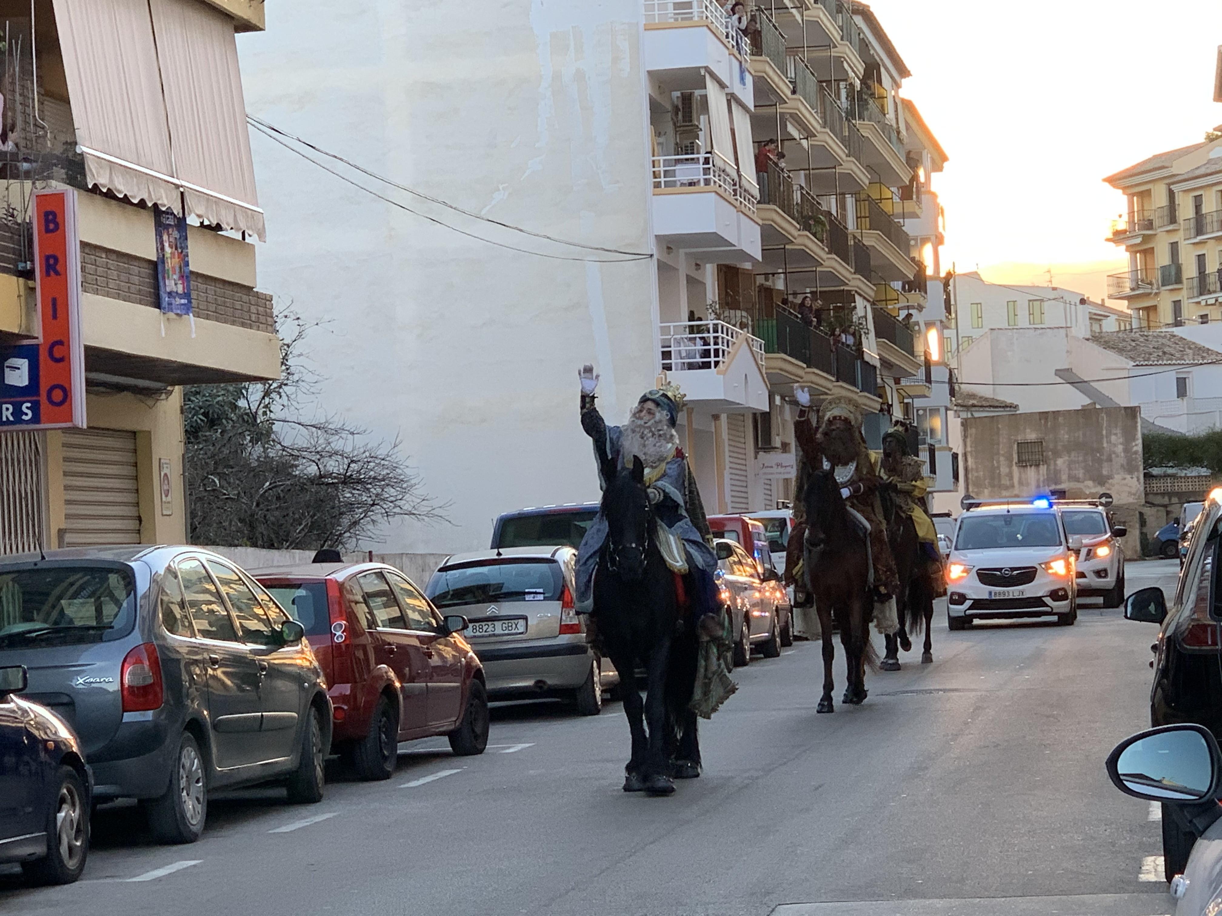 Llegada de los Reyes Magos a Xàbia (9)