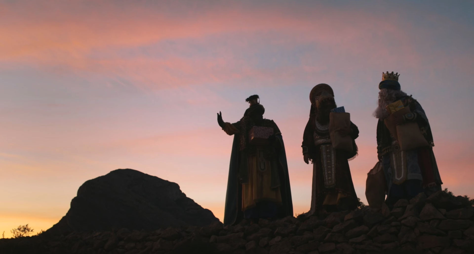 Los Reyes Magos en Xàbia