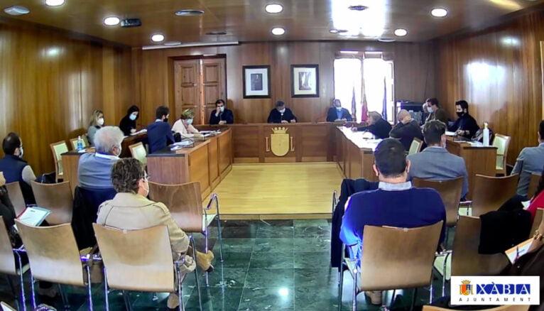 Pleno ordinario del Ayuntamiento de Xàbia de diciembre