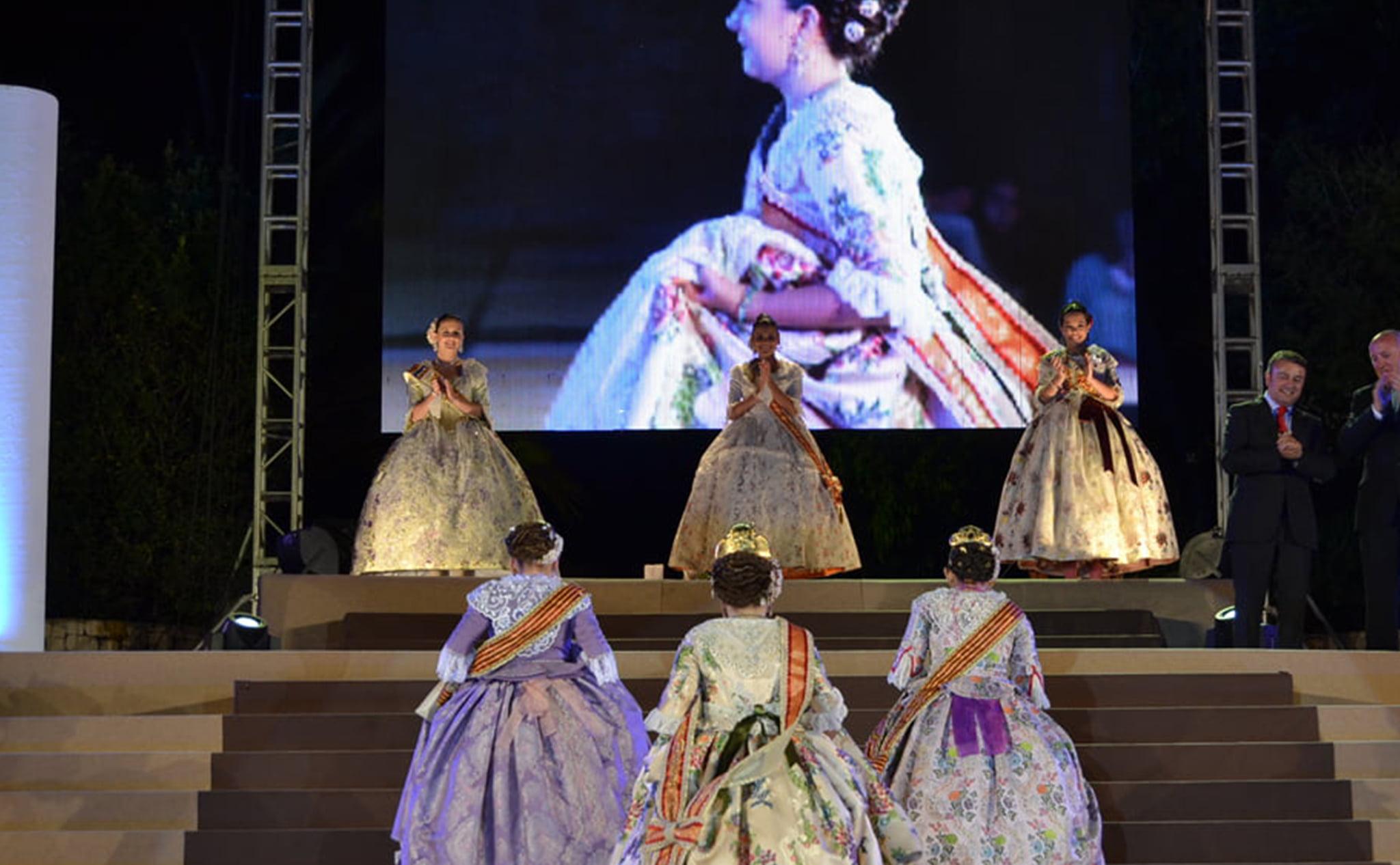 Proclamación de la Reina de Fogueres de Jávea 2013, Ángela Devesa