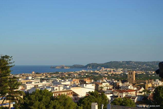Imagen: Vista de Xàbia
