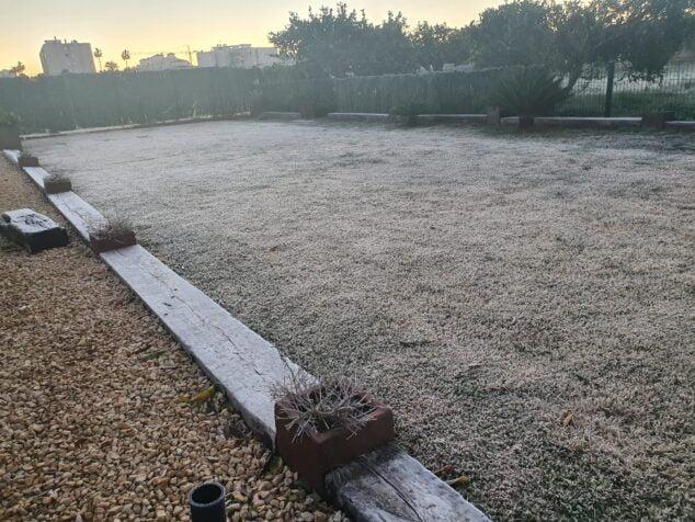 Afbeelding: Xàbia registreert temperaturen onder 0