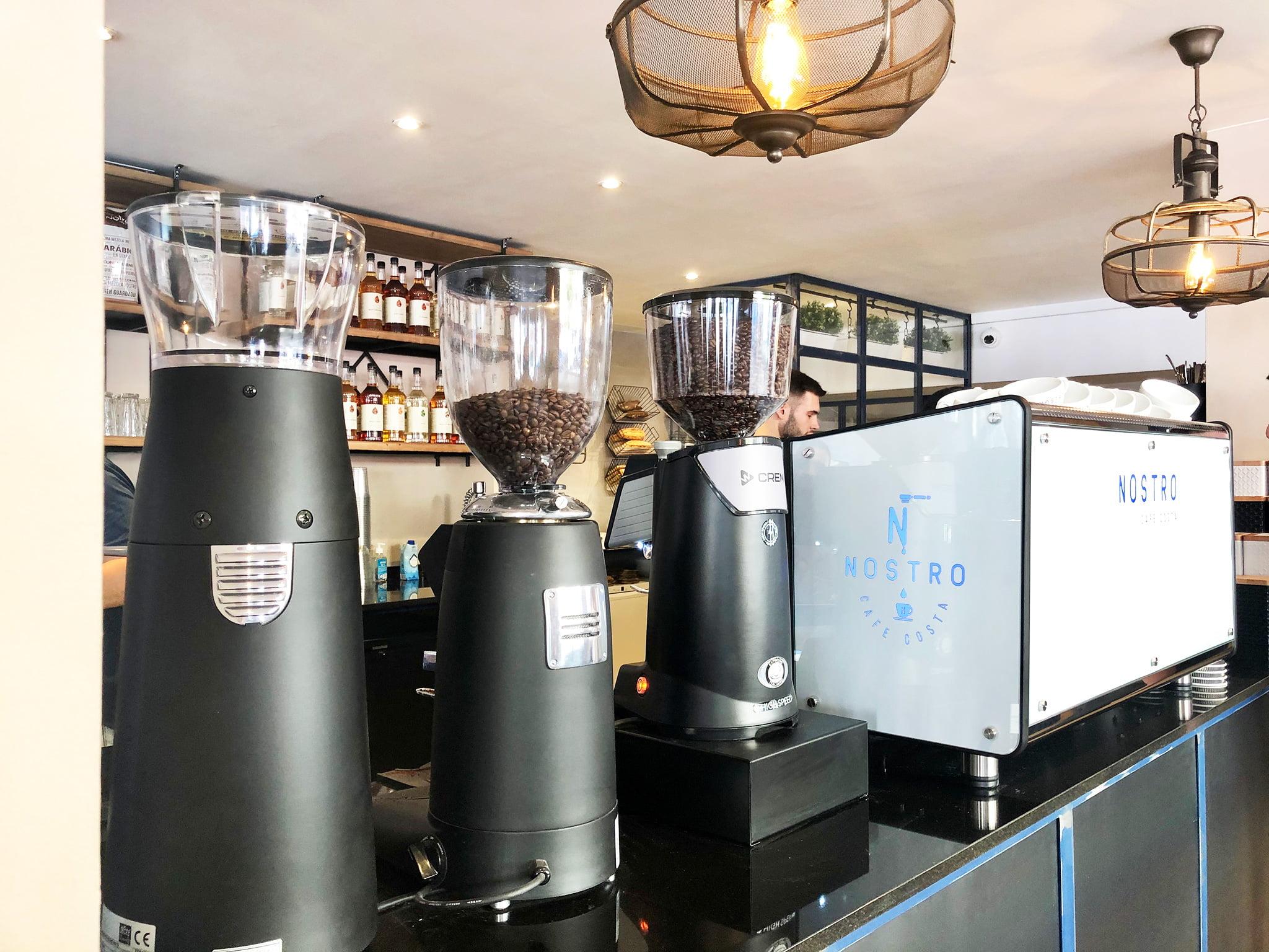 Café natural molido de Nostro Café Costa