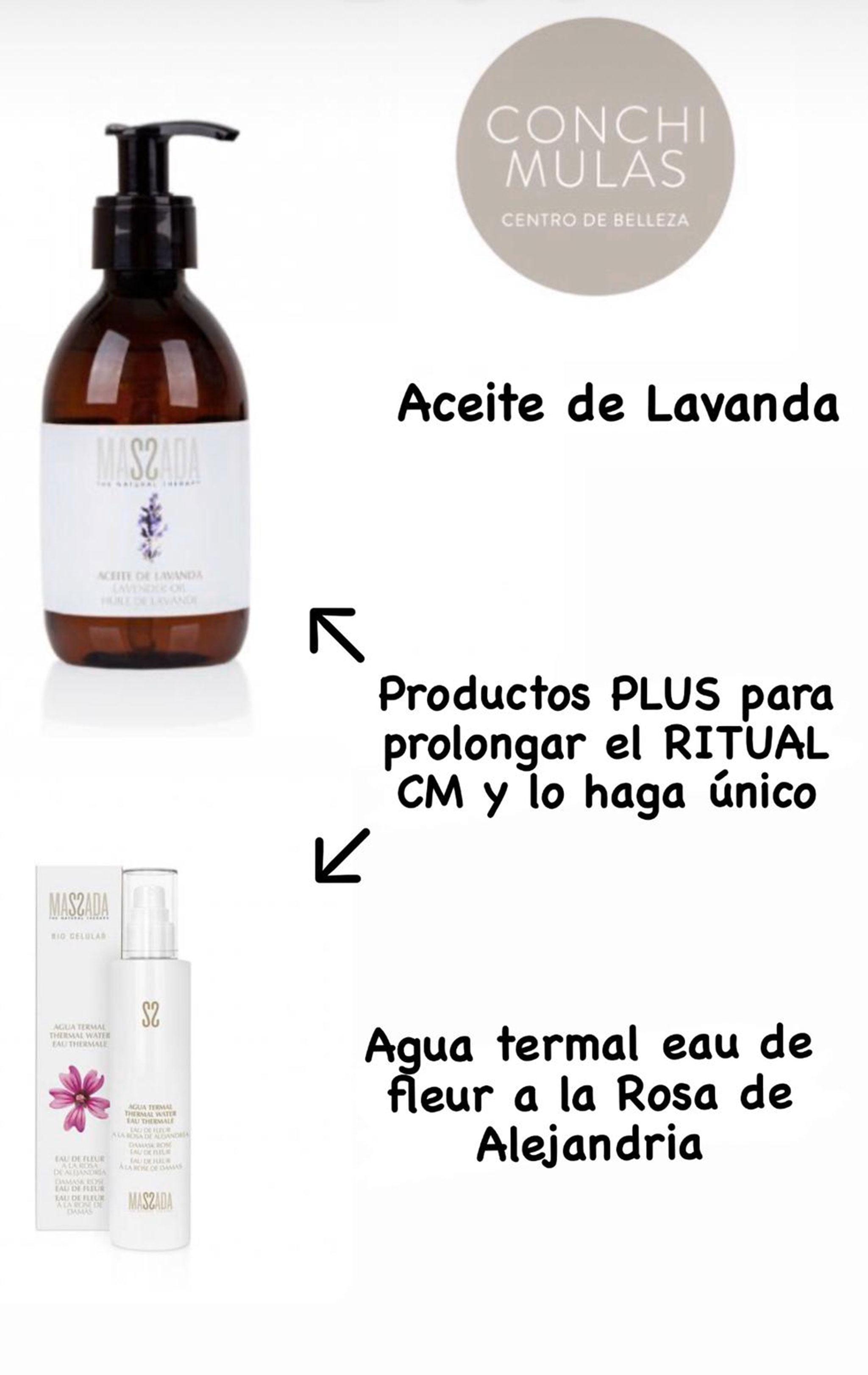 Productos para prolongar el ritual CM – Centro de Estética Conchi Mulas