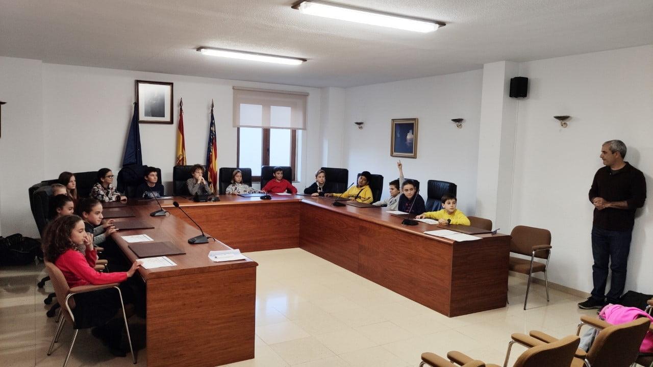 Consell d' Infancia de El Poble Nou de Benitatxell