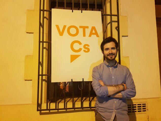Imagen: Enrique Escrivá, Portavoz de C's Xàbia