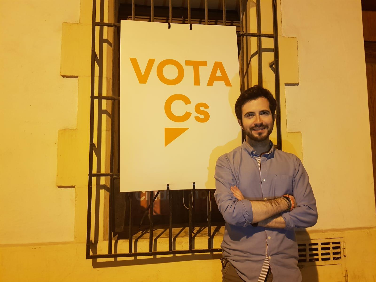 Enrique Escrivá, Portavoz de C's Xàbia